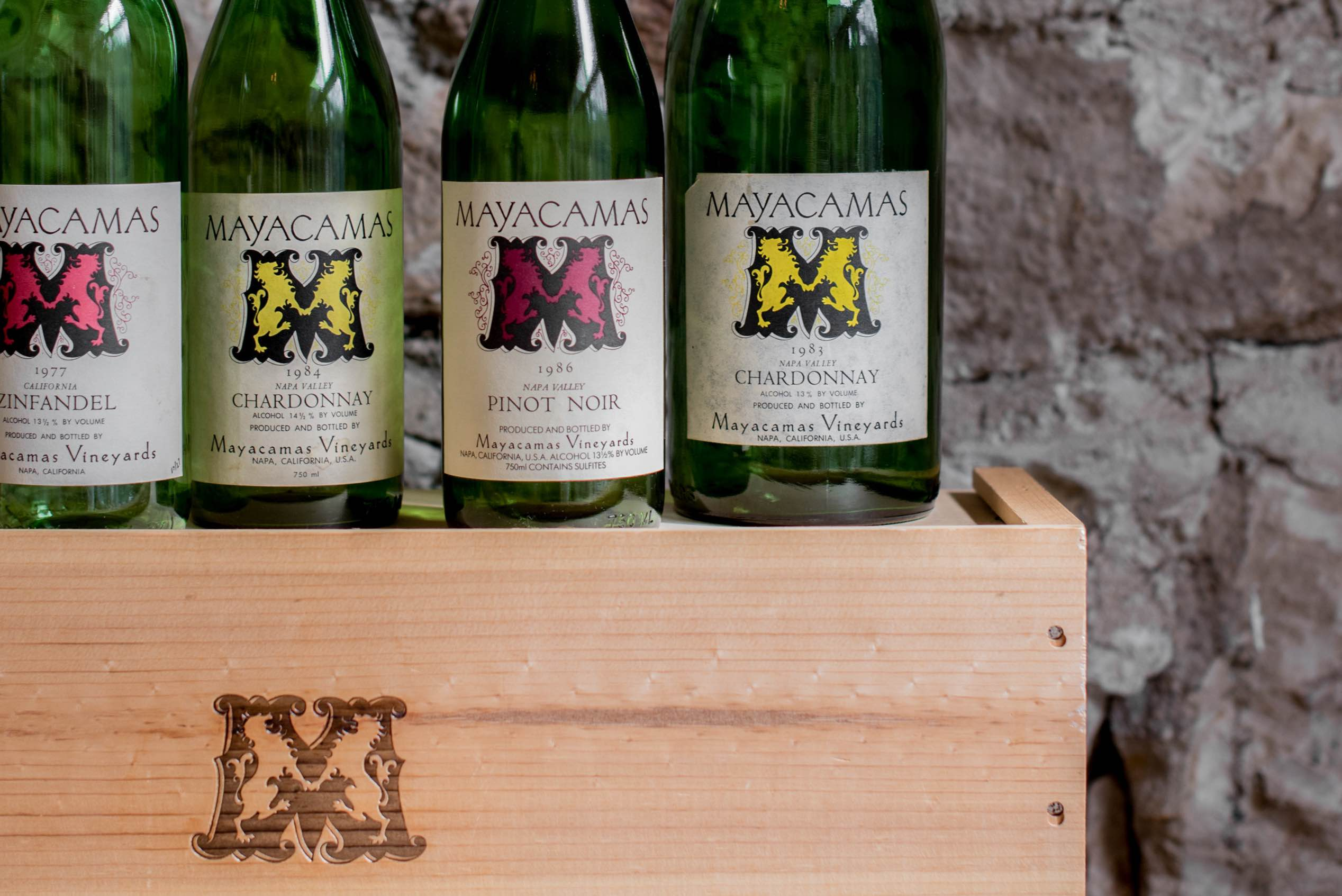 The wines of Mayacamas Vineyards
